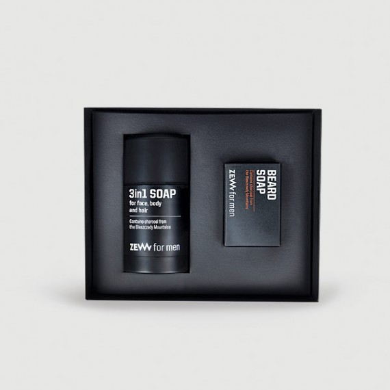 Zew for men - The Bearded Man's Holiday Kit