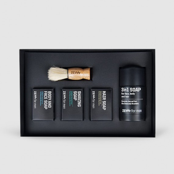 Zew for men - Barber's Holiday Set