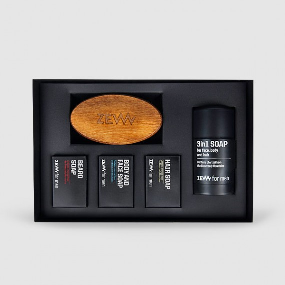 Zew for men - The Bearded Man's Holiday Set