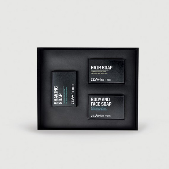 Zew for men - Barber's Holiday Must Have Box