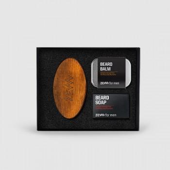 Zadbany-brodacz_szczotka+balsam+mydło_EN