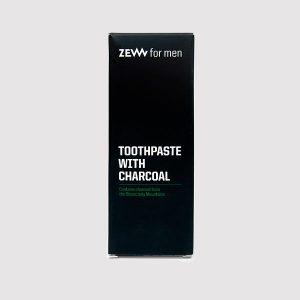 Charcoal Toothpaste - Zahnpasta mit Aktivkohle und intensiver Minznote