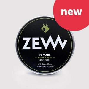 Charcoal Pomade - Haarpomade mit Aktivkohle