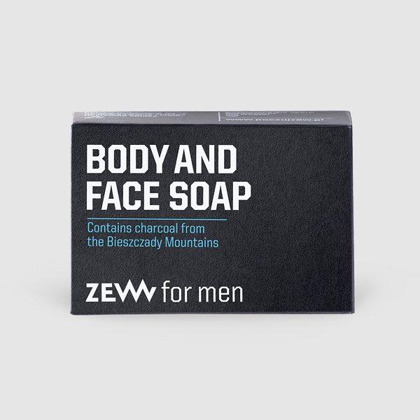 Body and Face Soap - Seife mit Aktivkohle für Körper und Gesicht