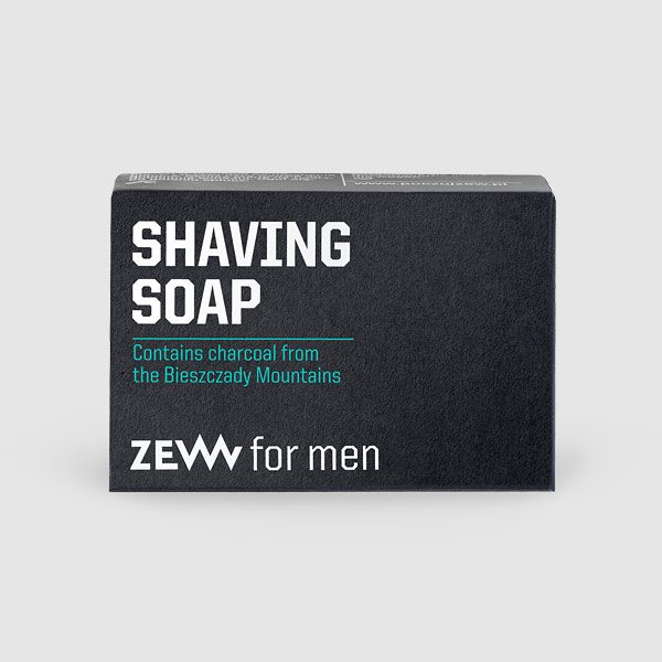 Shaving Soap - Rasierseife mit Aktivkohle