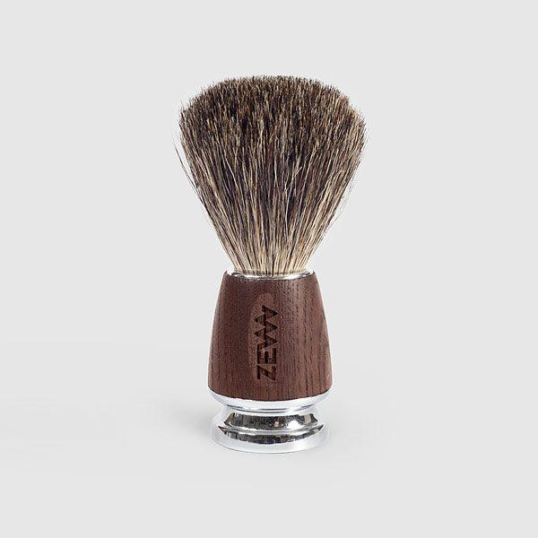 ZEW X MÜHLE Shaving Brush - Rasierpinsel mit echtem Dachshaar